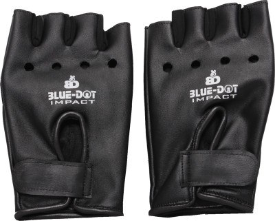 Blue Dot Impact Gym & Fitness Gloves (Free Size, Multicolor)
