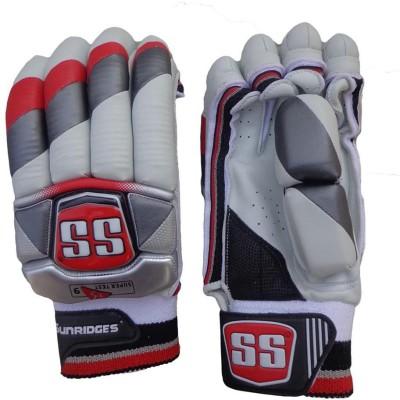 SS Supertest Batting Gloves (Men, White)