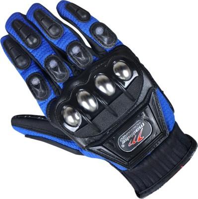 Bike World Madbiker Racing Driving Gloves (XL, Blue)