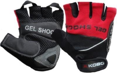 Kobo WTG-04 Gym & Fitness Gloves (XL, Red)