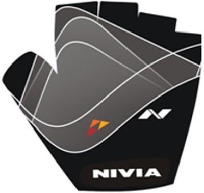 Nivia Spirall Gym & Fitness Gloves (S, Black)