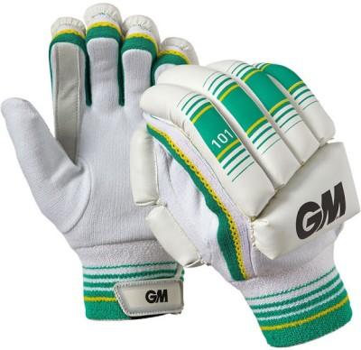GM 101 Batting Gloves (Boys, White, Green)