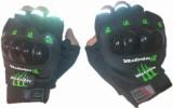 Monster Biker Riding Gloves (XL, Black)
