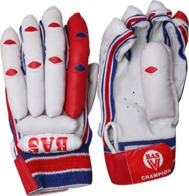 BAS Vampire Champion Batting Gloves (L, White, Red)