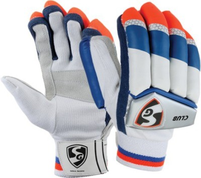 SG CLUB Batting Gloves (Small Boys, Multicolor)