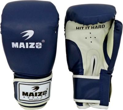 Maizo Aerobic Boxing Gloves (M, Blue, White)