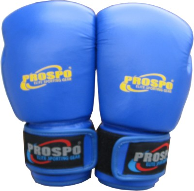 PROSPO FIGHT 10OZ Boxing Gloves (Men, Blue)