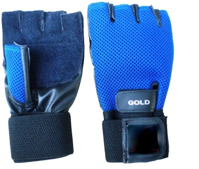 Vinto Ultimate Warrior Gym & Fitness Gloves (Free Size, Multicolor)