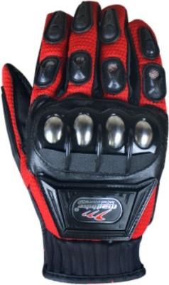 Bike World Madbiker Racing Equipment Riding Gloves (XL, Red)