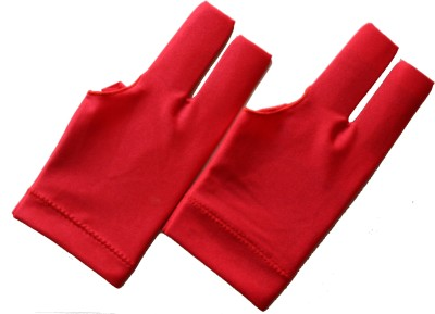 Billiedge Red Nail Cut (Pack Of 2) Gym & Fitness Gloves (Free Size, Red)