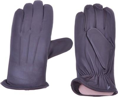 Leathersign Mlcmgv1 Climbing Gloves (Free Size, Black)