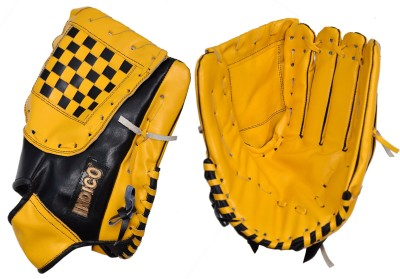Indico Keeper Gripper Leather Baseball Gloves (L, Multicolor)