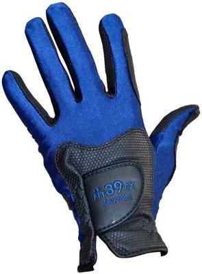 Fit39 EX Golf Gloves (S, Black, Blue)