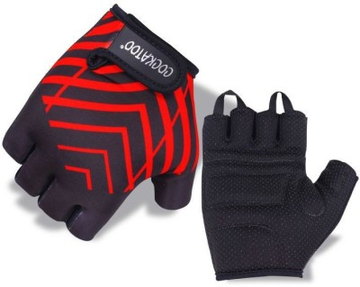 Cockatoo WLG5-Red Gym & Fitness Gloves (XL, Multicolor)