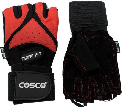 Cosco Tuff 28070-1 Gym & Fitness Gloves (S, Multicolor)