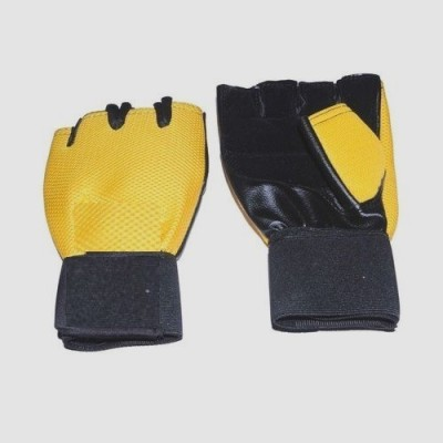 Real Choice Bikegloves-ylw Riding Gloves (L, Yellow)