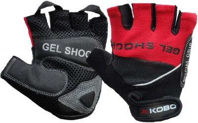 Kobo WTG-04 Gym & Fitness Gloves (L, Red)