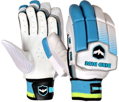 Birdblue Light Strome Batting Gloves (Youth, White, Blue)