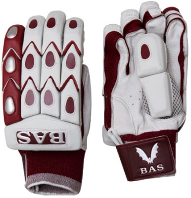 BAS Vampire Bow 20/20 Wicket Keeping Gloves (L, White, Brown)