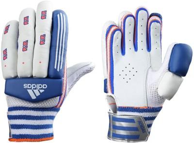Adidas BG SMASH 16 Batting Gloves (Boys, White, Blue, Red)