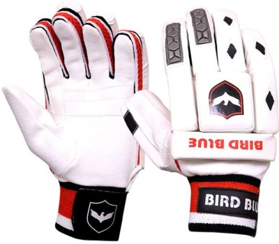Birdblue v-500 Batting Gloves (Men, Red, White)