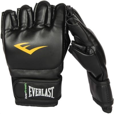 Everlast Grappling Boxing Gloves (M, Black)