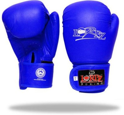 Lordz New Style Competition Boxing Gloves (XL, Blue)