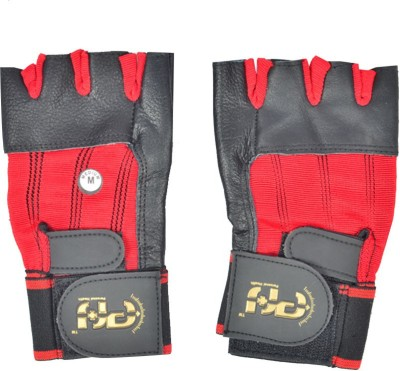 Personal Health AI - Super Gym & Fitness Gloves (M, Black, Red)