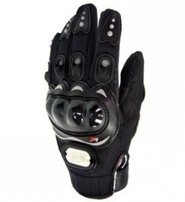 MR Trading Pro Biker Driving Gloves (XL, Black)