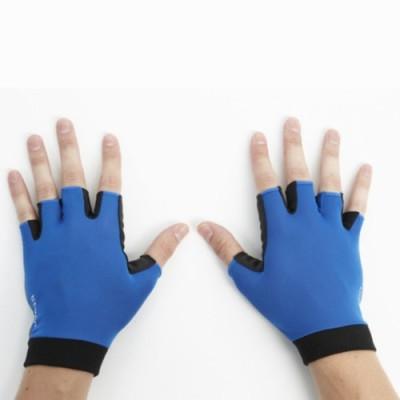 Btwin 300 Blue Cycling Gloves (XXL, Blue)