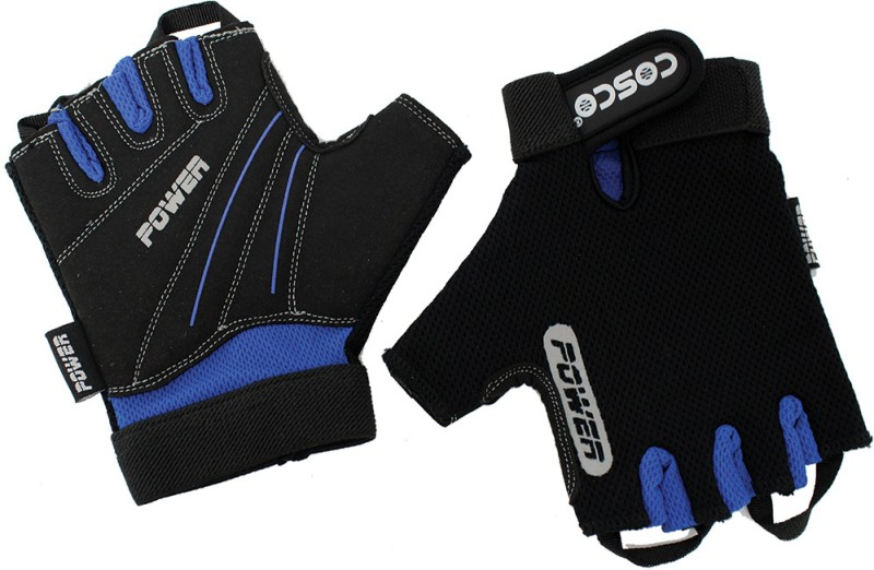 Cosco Power Gym & Fitness Gloves (M, Multicolor)