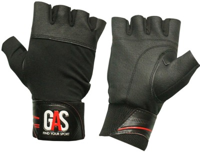 GAS YANKEE Gym & Fitness Gloves (Free Size, Black)