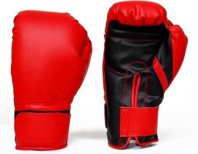 Monika Sports moni Boxing Gloves (L, Red, Black)