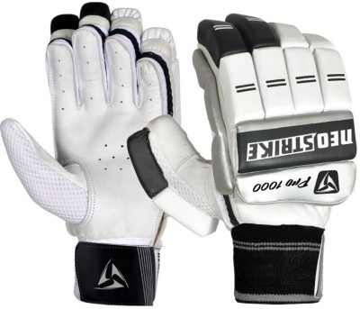 Neo Strike PRO1000 Batting Gloves (Men, White, Black)