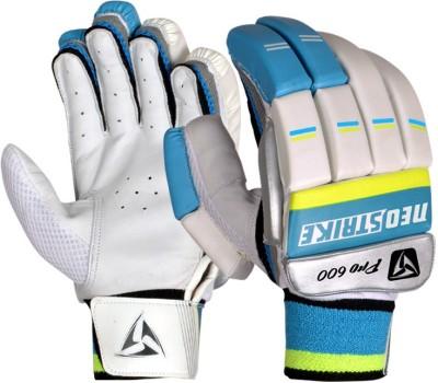 Neo Strike PRO600(Y) Batting Gloves (Youth, White, Blue)