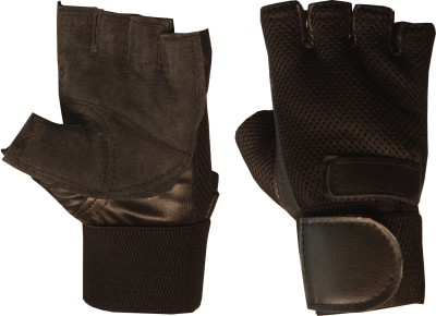 Claxon Inult Gym & Fitness Gloves (Free Size, Brown)