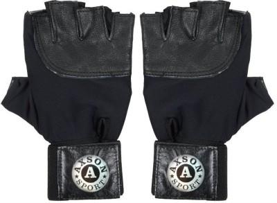 AXSON Axson Gym Gloves Gym & Fitness Gloves (Men, Black)
