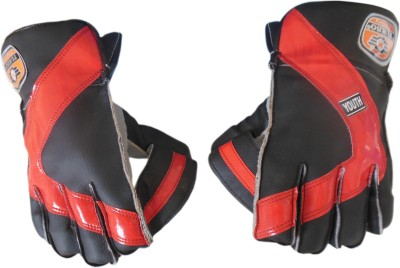 Turbo CENTURY (Ping-Pong) Wicket Keeping Gloves (Youth, Multicolor)