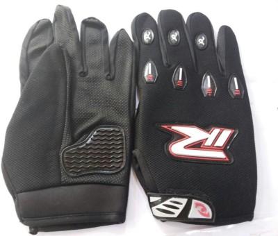 Bike World R Gloves XL Black Riding Gloves (XL, Black)