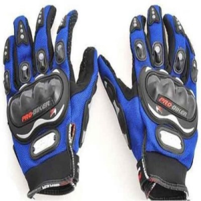 Joynix PRO BIKER Riding Gloves (L, Blue)