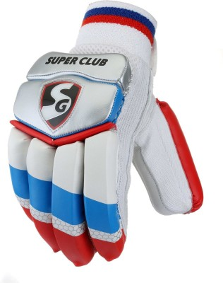 SG Super Club Batting Gloves (Men, Multicolor)