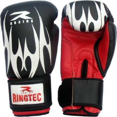 Ringtec RS-301-06 Boxing Gloves (M, Black)
