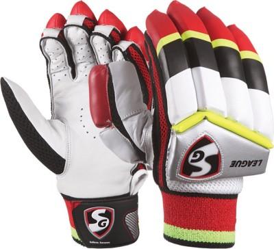 SG League Batting Gloves (L, Multicolor)