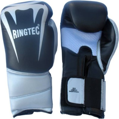 Ringtec RS-301-02 Boxing Gloves (S, Black)