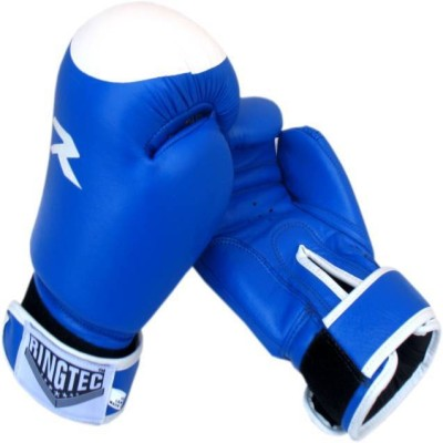 Ringtec RS-301-01 Boxing Gloves (L, Blue)