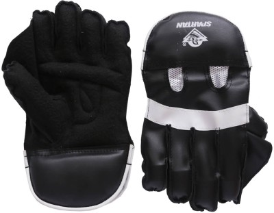 Spartan PU Leather Wicket Keeping Gloves (L, Multicolor)