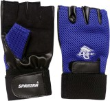 Spartan Top Gym & Fitness Gloves (L, Blu...