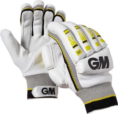 GM 101 Batting Gloves (Men, White)