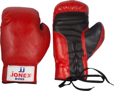 JJ JONEX SUPERIOR QUALITY training Boss Boxing Gloves (Youth, Red)