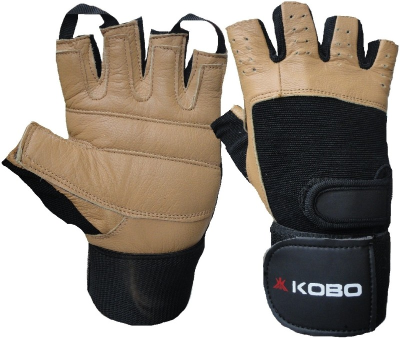 Kobo Weight Lifting (Imported) Gym & Fitness Gloves (M, Assorted)